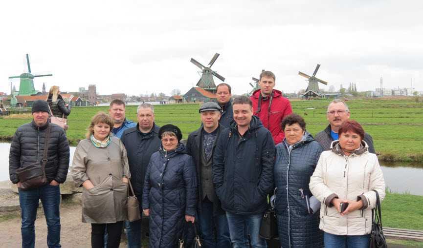 Деловая поездка в Нидерланды и Бельгию