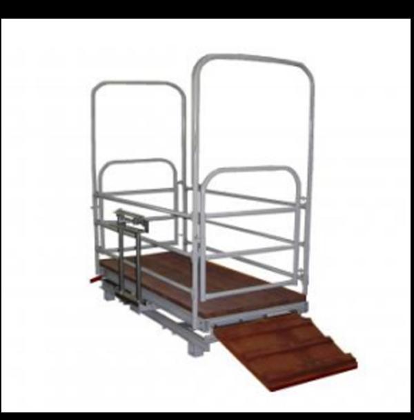 Весы механические для взвешивания скота «ВТ 8908-500Сх»