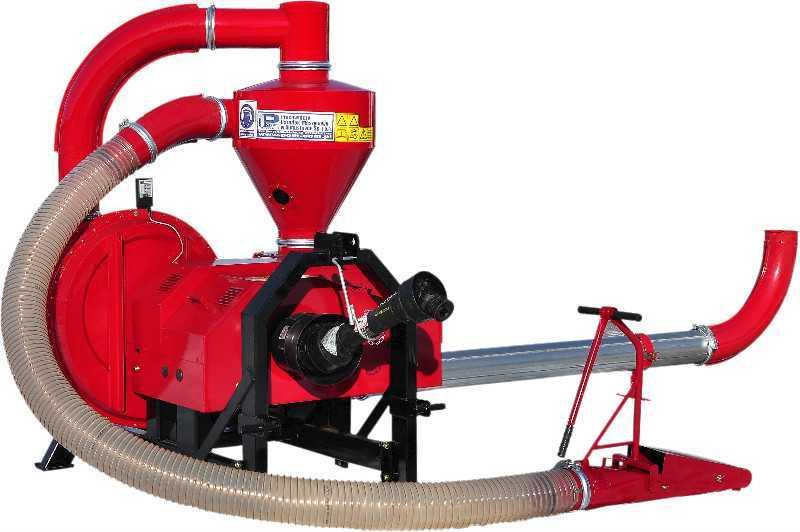Пневматический всасывающе-нагнетающий транспортер с двухступенчатым вентилятором Т 450/1