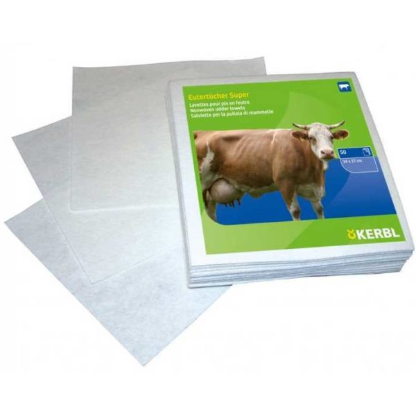 Салфетки многоразовые для обработки вымени (34х37)