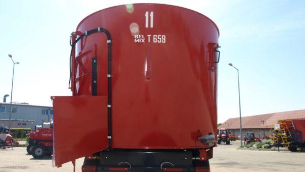 Миксер-кормораздатчик однороторный Т-659 11м³
