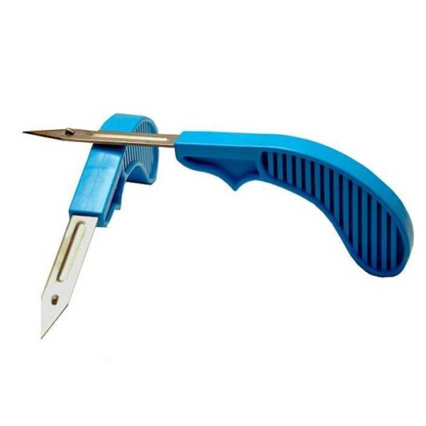 Нож-аппликатор для установки ушных бирок