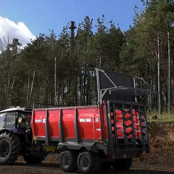 Навозоразбрасыватель N-267 - 8 тонн