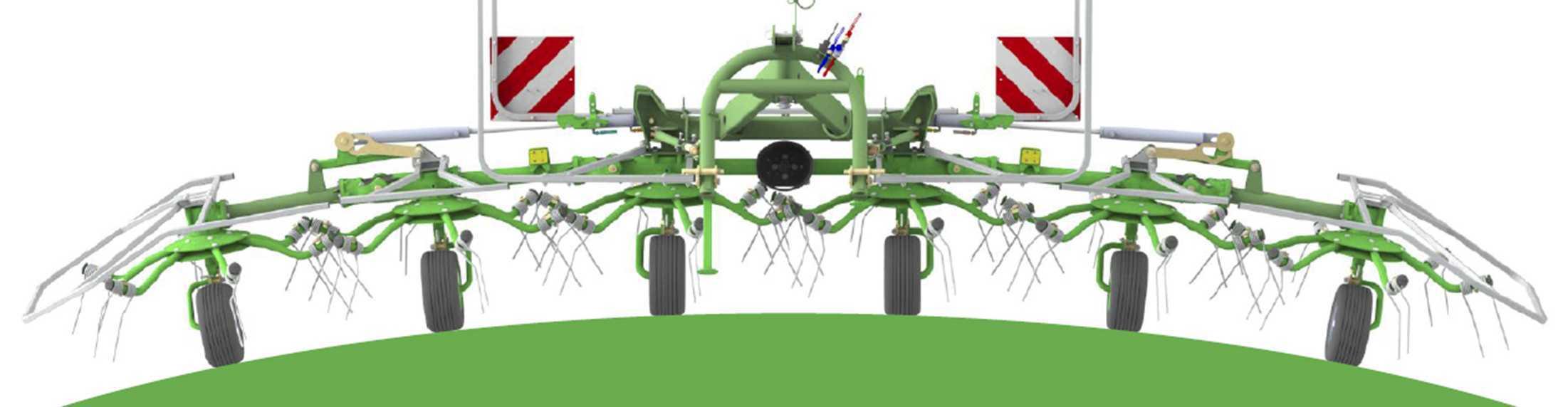 Ворошилка роторная P4-470