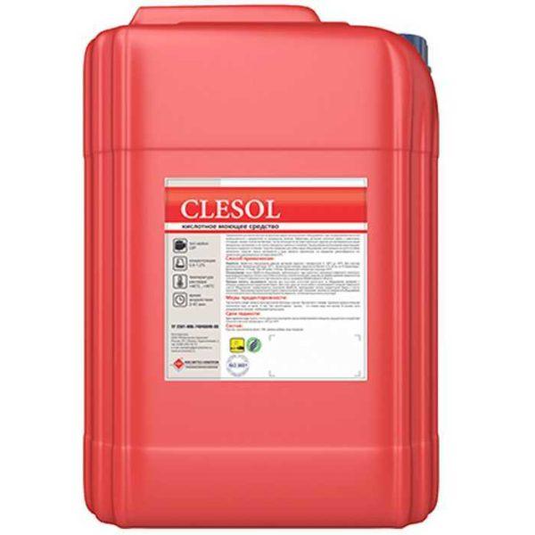 """Средство для мойки молочного оборудования """"Clesol"""""""