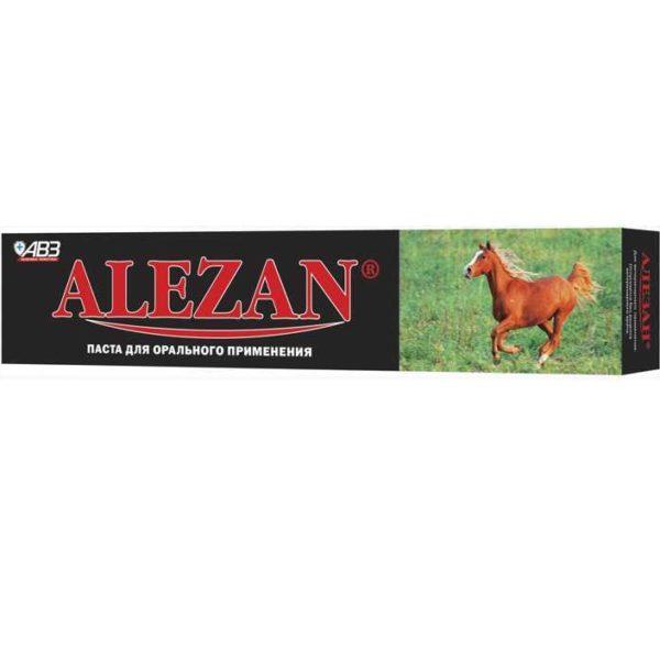 Алезан, паста