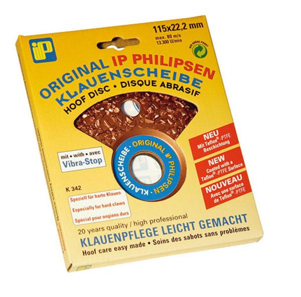 Шлифовальный диск для обработки копыт PHILIPSEN