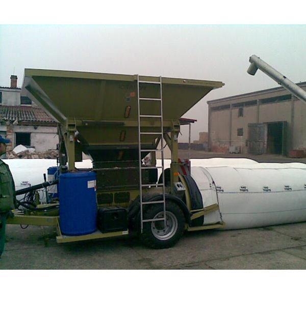 Плющилка влажного зерна CP1
