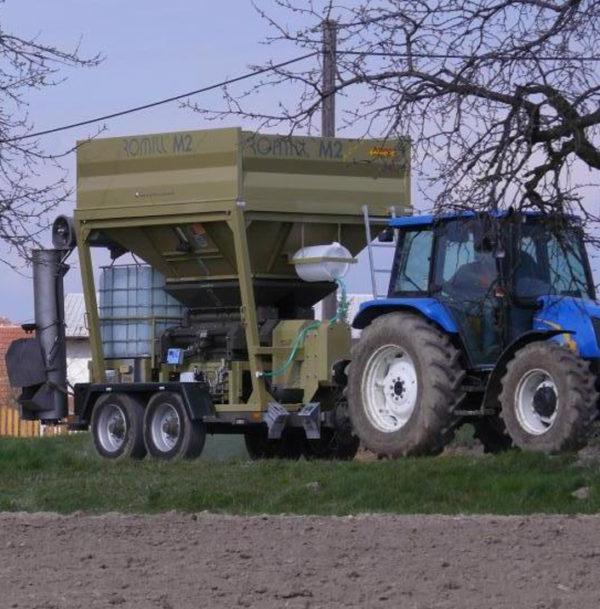 Плющилка влажного зерна M2 PLUS