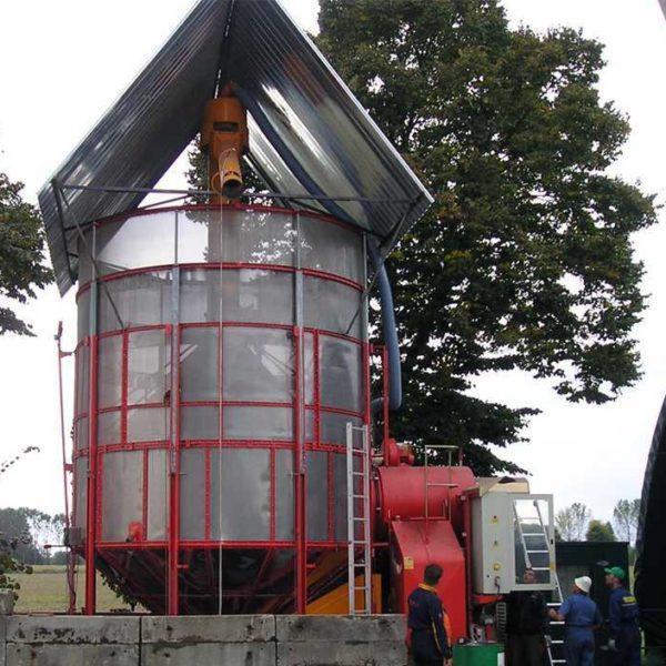 Мобильная зерносушилка XL 350