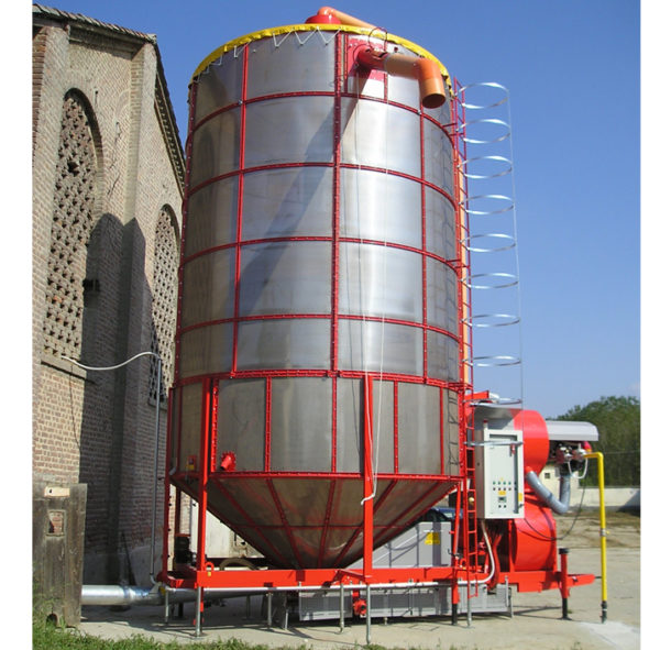 Мобильная зерносушилка XL 400