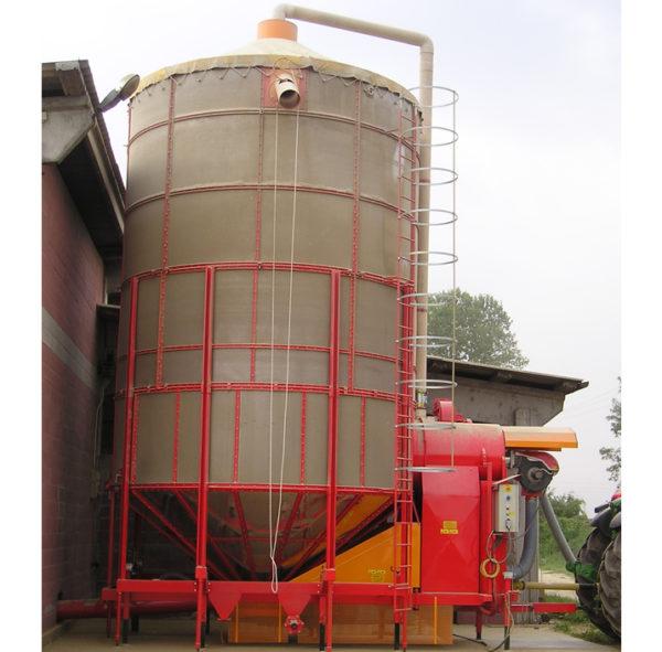 Мобильная зерносушилка XL 550