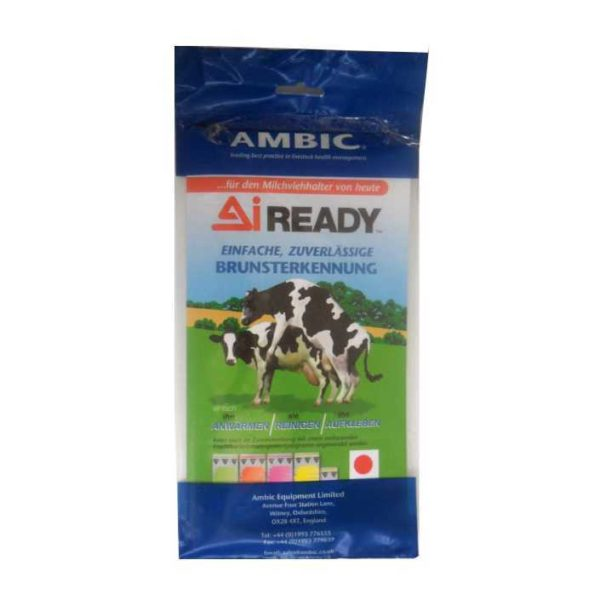 Индикаторная наклейка для определения охоты у коров